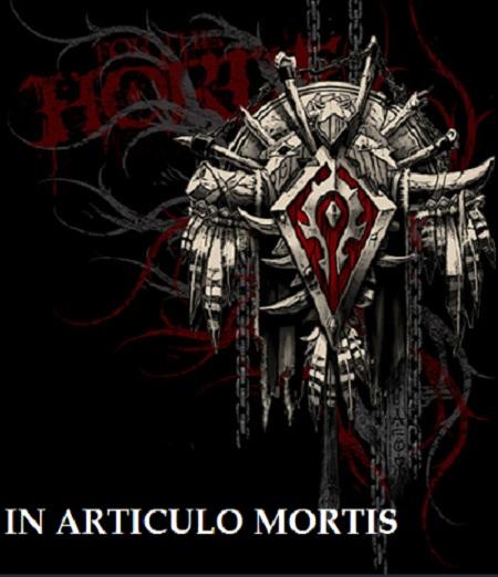 in articulo mortis Index du Forum