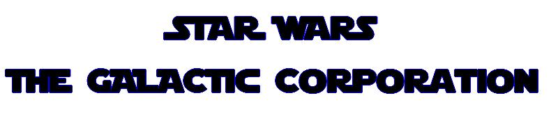 The Galactic Corporation Index du Forum