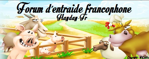 -=-  Hayday-Fr -=-   Index du Forum